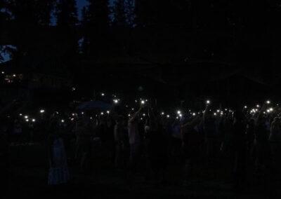 Phones of Praise at Freedom Fest